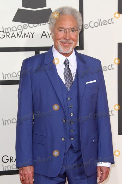 Tom Jones Photo - 08 February 2015 - Los Angeles California - Tom Jones 57th Annual GRAMMY Awards held at the Staples Center Photo Credit AdMedia