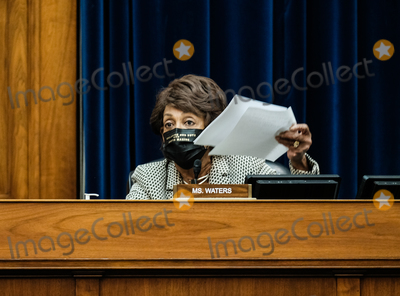 Alex Azar Photo - United States Representative Maxine Waters (Democrat of California) listens to US Secretary of Health and Human Services (HHS) Alex Azar at a hearing before the House Select Subcommittee on the Coronavirus Crisis in the Rayburn Building on October 2 2020 in Washington DC The hearing will examine the impacts of COVID-19 in America just one day after President Donald Trump and First Lady Melania Trump tested positive for COVID-19Credit Michael A McCoy  Pool via CNPAdMedia