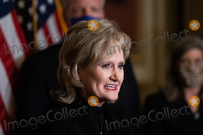 Supremes Photo - Senator Cindy Hyde-Smith R-MS speaks during a press conference after President Trumps Supreme Court nominee Judge Amy Coney Barrett was confirmed by the Senate as the 115th justice to the Supreme Court on Capitol Hill Monday October 26th 2020AdMedia