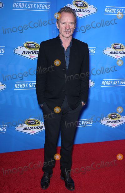 Sting Photo - 02 December 2016 - Las Vegas NV -  Sting  2016 NASCAR Sprint Cup Series Awards at Wynn Las Vegas red carpet arrivals  Photo Credit MJTAdMedia