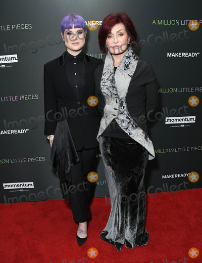 Sharon Osbourne Photo - 04 December 2019 - West Hollywood California - Kelly Osbourne Sharon Osbourne Special Screening Of Momentum Pictures A Million Little Pieces held at The London West Hollywood Photo Credit Birdie ThompsonAdMedia