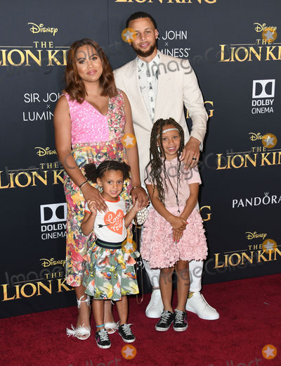 Ayesha Curry Photo - 09 July 2019 - Hollywood California - Steph Curry Ayesha Curry Disneys The Lion King Los Angeles Premiere held at Dolby Theatre Photo Credit Birdie ThompsonAdMedia