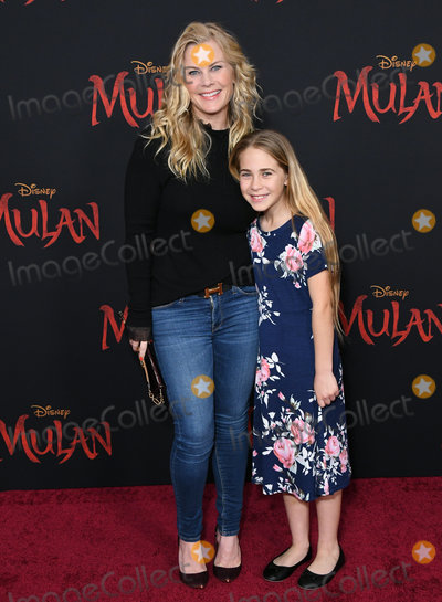 Alison Sweeney Photo - 09 March 2020 - Hollywood California - Alison Sweeney Disneys Mulan Los Angeles Premiere held at Dolby Theater Photo Credit Birdie ThompsonAdMedia