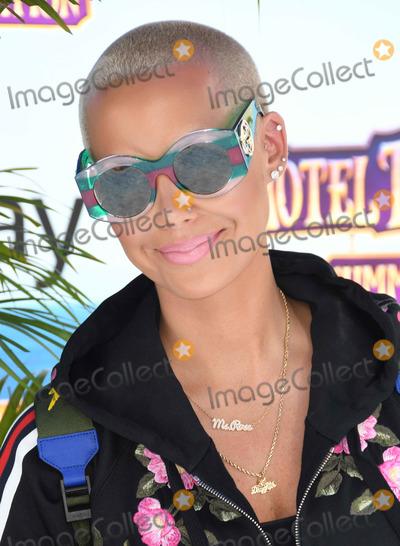 Amber Rose Photo - 30 June 2018 - Westwood California - Amber Rose Hotel Transylvania 3 Summer Vacation Los Angeles Premiere held at Regency Village Theater  Photo Credit Birdie ThompsonAdMedia