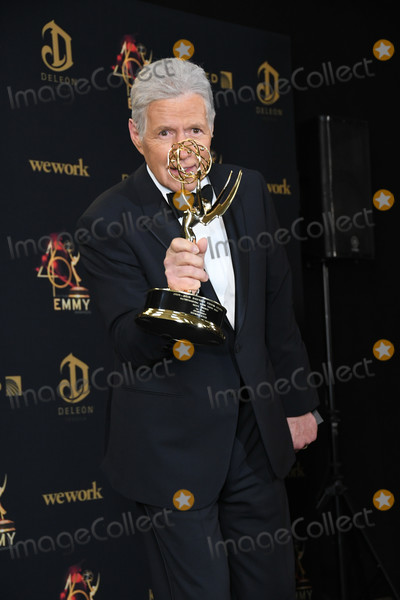 Alex Trebek Photo - 05 May 2019 - Pasadena California - Alex Trebek 46th Annual Daytime Emmy Awards - Press Room held at Pasadena Civic Auditorium Photo Credit Birdie ThompsonAdMedia