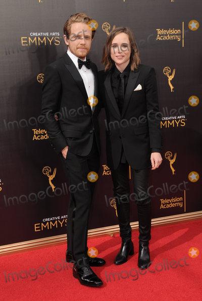 Ellen Page Photo - 11 September 2016 - Los Angeles California Ian Daniel Ellen Page 2016 Creative Arts Emmy Awards - Day 2 held at Microsoft Theater Photo Credit Birdie ThompsonAdMedia