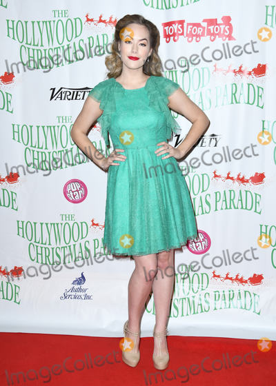 Annika Noelle Photo - 25 November 2018 - Hollywood California - Annika Noelle The 87th Annual Hollywood Christmas Parade held at Hollywood Blvd Photo Credit Birdie ThompsonAdMedia
