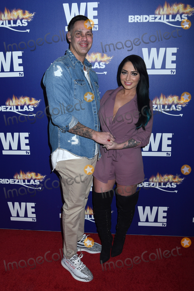 Angelina Pivarnick Photo - 13 March 2019 - New York New York - Chris Larangeira and Angelina Pivarnick at WE tv Premiere of Season 12 for BRIDEZILLAS at Angel Orensanz Foundation on Lower East Side Photo Credit LJ FotosAdMedia