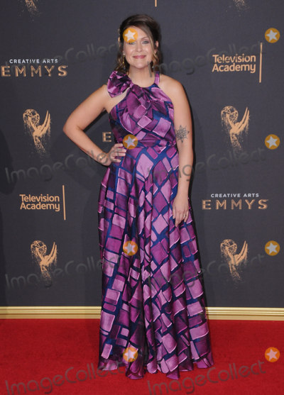 Amber Nash Photo - 09 September  2017 - Los Angeles California - Amber Nash 2017 Creative arts Emmys held at Microsoft Theatre LA Live in Los Angeles Photo Credit Birdie ThompsonAdMedia