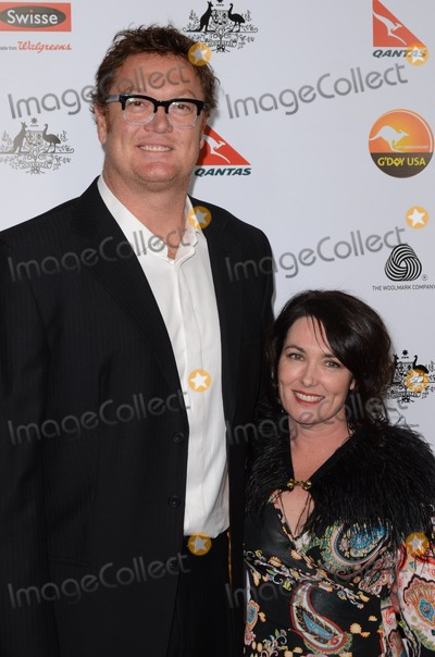 Anna Gare Photo - 12 January 2013 - Los Angeles California - Luc Longley Anna Gare The GDay USA Black Tie Gala held at the the JW Marriot at LA Live  Photo Credit Tonya WiseAdMedia