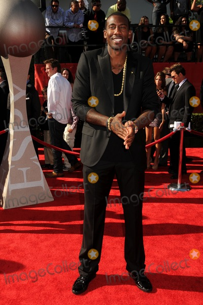 Amare Stoudemire Photo - 13 July 2011 - Los Angeles California - Amare Stoudemire 2011 ESPY Awards - Arrivals held at Nokia Theatre LA Live Photo Credit Byron PurvisAdMedia
