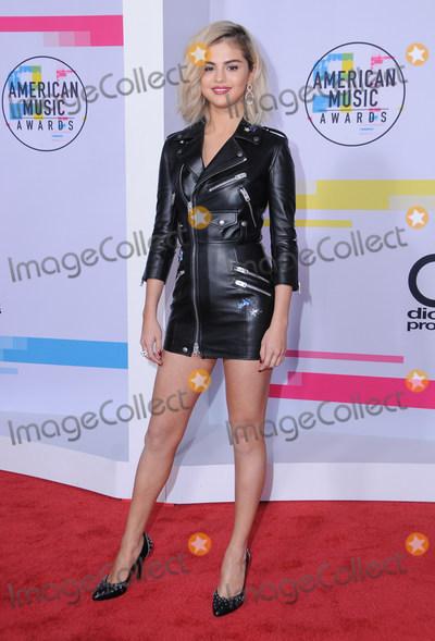 Selena Gomez Photo - 19 November  2017 - Los Angeles California - Selena Gomez 2017 American Music Awards  held at Microsoft Theater in Los Angeles Photo Credit Birdie ThompsonAdMedia