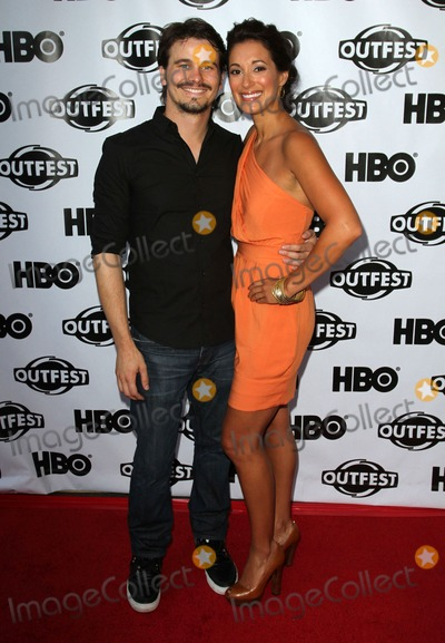 Angelique Cabral Photo - 17 July 2011 - West Hollywood California - Jason Ritter Angelique Cabral 2011 Outfest Film Festival Screening Of The Perfect Family Closing Night- Arrivals  Held At The DGA Theatre Photo Credit Kevan BrooksAdMedia