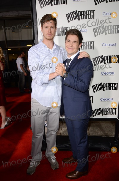 Anders Holm Photo - 24 September 2012 - Hollywood California - Anders Holm Adam DeVine  The premiere of Universal Pictures And Gold Circle Films Pitch Perfect held at ArcLight Cinemas Photo Credit Tonya WiseAdMedia
