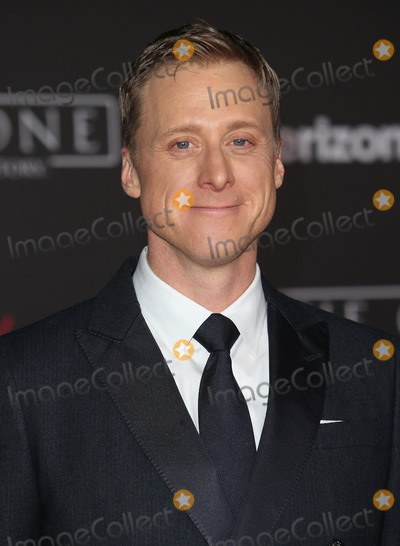 Alan Tudyk Photo - 10 December 2016 - Hollywood California - Alan Tudyk Rogue One A Star Wars Story World Premiere held at Pantages Theater Photo Credit F SadouAdMedia