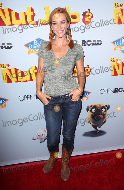 Annie Wersching Photo - 05 August 2017 - Los Angeles California - Annie Wersching Nut Job 2 Nutty by Nature World Premiere held at Regal Cinema at LA Live Photo Credit F SadouAdMedia