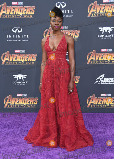 Danai Gurira Photo - 23 April 2018 -  Hollywood California - Danai Gurira Disney and Marvels Avengers Infinity War Los Angeles Premiere held at Dolby Theater Photo Credit Birdie ThompsonAdMedia