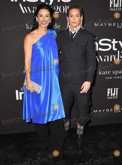 Ali Krieger Photo - 21 October 2019 - Hollywood California - Ali Krieger Ashlyn Harris 2019 InStyle Awards held at The Getty Center Photo Credit Birdie ThompsonAdMedia