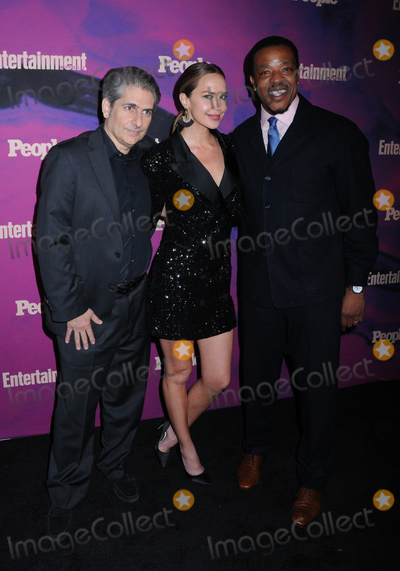 Arielle Kebbel Photo - 13 May 2019 - New York New York - Michael Imperioli Arielle Kebbel Russell Hornsby at the Entertainment Weekly  People New York Upfronts Celebration at Union Park in Flat Iron Photo Credit LJ FotosAdMedia