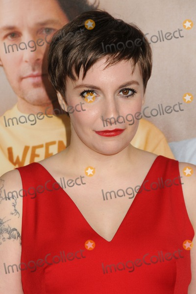 Lena Dunham Photo - 12 December 2012 - Hollywood California - Lena Dunham  This Is 40 Los Angeles Premiere held at Graumans Chinese Theatre Photo Credit Byron PurvisAdMedia
