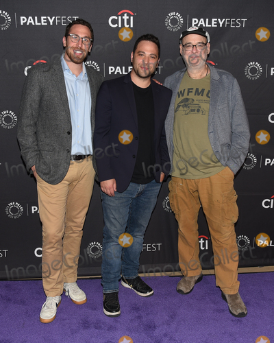 Andy Breckman Photo - 13 September 2019 - Beverly Hills California - (L-R) Dan Newmark Ben Newmark and Andy Breckman The Misery Index at The Paley Center For Medias 13th Annual PaleyFest Fall TV Previews - TBS Photo Credit Billy BennightAdMedia