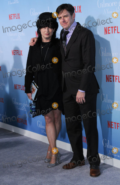 Amy Sherman-Palladino Photo - 18 November 2016 - Westwood California Amy Sherman-Palladino Daniel Palladino Premiere Of Netflixs Gilmore Girls A Year In The Life held at the Regency Bruin Theatre Photo Credit Birdie ThompsonAdMedia