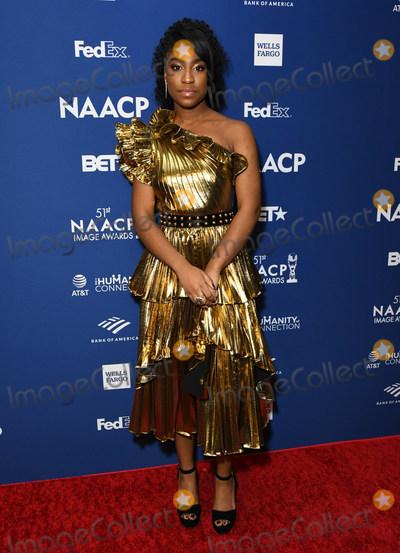 Lyric Photo - 21 February 2020 - Hollywood California - Lyric Ross 51st NAACP Image Awards - Non-Televised Awards Dinner  held at the Ray Dolby Ballroom Photo Credit Birdie ThompsonAdMedia