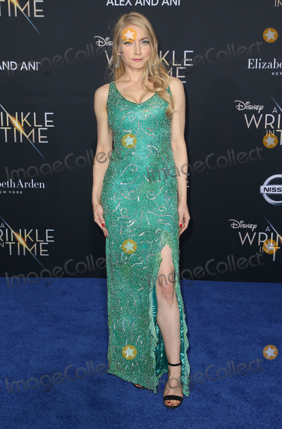 Anna Moore Photo - 26 February 2018 - Hollywood California - Anna Moore Disneys A Wrinkle In Time World Premiere held at El Capitan Theatre Photo Credit F SadouAdMedia