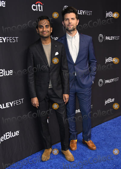 Aziz Ansari Photo - 21 March 2019 - Hollywood California - Aziz Ansari Adam Scott 2019 PaleyFest LA - NBCs Parks and Recreation 10th Anniversary Reunion held at The Dolby Theater Photo Credit Birdie ThompsonAdMedia