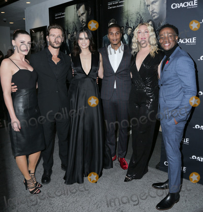 Arlen Escarpeta Photo - 07 March 2018 - Culver City California - Eve Mauro Ryan Kwanten Katrina Law Cory Hardrict Elisabeth Rohm Arlen Escarpeta Premiere Of Crackles The Oath held at Sony Pictures Studios Photo Credit PMAAdMedia