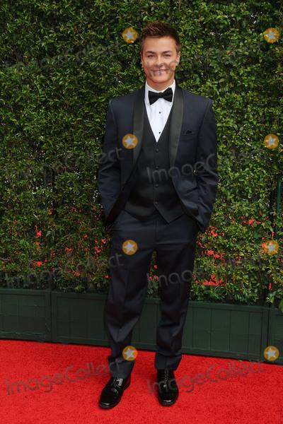 Peyton Meyer Photo - 12 September 2015 - Los Angeles California - Peyton Meyer 2015 Creative Arts Emmy Awards - Arrivals held at the Microsoft Theatre Photo Credit Byron PurvisAdMedia