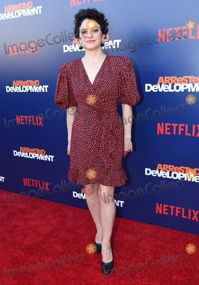 Alias Photo - 17 May 2018 - Hollywood California - Alia Shawkat Netflixs Arrested Development Season 5 Premiere held at Netflix FYSee Theater Photo Credit Birdie ThompsonAdMedia