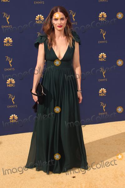 Amanda Peet Photo - 17 September 2018 - Los Angles California - Amanda Peet 70th Primetime Emmy Awards held at Microsoft Theater LA LIVE Photo Credit Faye SadouAdMedia