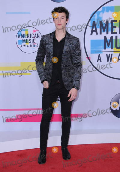 Shawn Mendes Photo - 19 November  2017 - Los Angeles California - Shawn Mendes 2017 American Music Awards  held at Microsoft Theater in Los Angeles Photo Credit Birdie ThompsonAdMedia