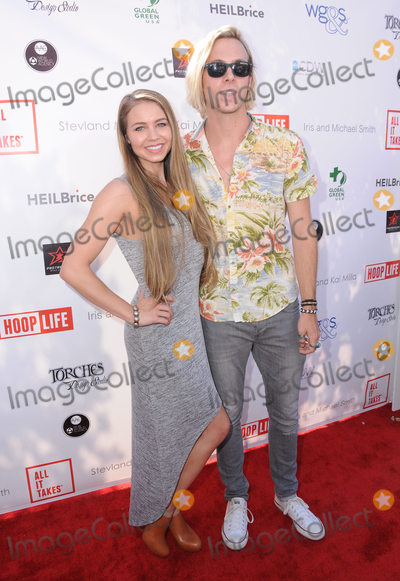 Ayla Kell Photo - 28 August 2016 - Los Angeles California Ayla Kell Ross Lynch The 4th Annual Kailand Obashi Hoop-Life Fundraiser held at Galen Center at USC Photo Credit Birdie ThompsonAdMedia