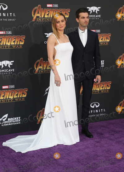 Alex Greenwald Photo - 23 April 2018 - Hollywood California - Brie Larson Alex Greenwald Disney and Marvels Avengers Infinity War Los Angeles Premiere held at Dolby Theater Photo Credit F SadouAdMedia