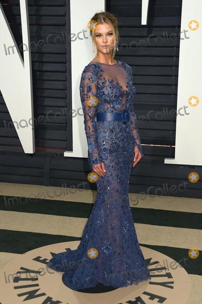 Nina Agdal Photo - 26 February 2017 - Beverly Hills California - Nina Agdal 2017 Vanity Fair Oscar Party held at the Wallis Annenberg Center Photo Credit Byron PurvisAdMedia