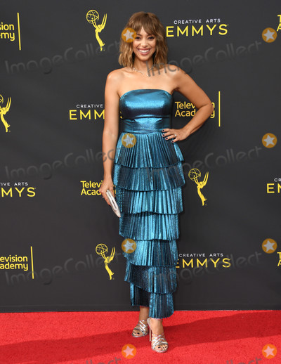 Amber Stevens-West Photo - 14 September 2019 - Los Angeles California - Amber Stevens West 2019 Creative Arts Emmys Awards - Arrivals held at Microsoft Theater LA Live Photo Credit Birdie ThompsonAdMedia