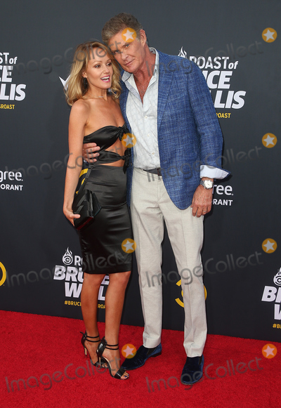 Hayley Roberts Photo - 14 July 2018 - Hollywood California - David Hasselhoff Hayley Roberts Comedy Central Roast Of Bruce Willis held at the Hollywood Palladium Photo Credit Faye SadouAdMedia