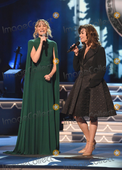 Amy Grant Photo - 08 November 2016 - Nashville Tennessee - Jennifer Nettles Amy Grant 2016 CMA Country Christmas held at the Grand Ole Opry House Photo Credit Laura FarrAdMedia