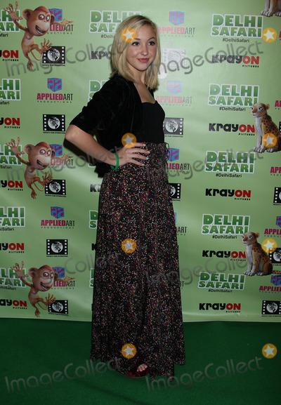 Allisyn Arm Photo - 03 December 2012 - Los Angeles California - Delhi Safari Los Angeles premiere at Pacific Theatre at The Grove Photo Credit Russ ElliotAdMedia