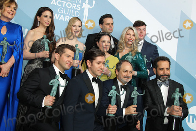 Kevin Pollak Photo - 19 January 2020 - Los Angeles California - Caroline Aaron Marin Hinkle Rachel Brosnahan Alex Borstein and Matilda Szydagis Kevin Pollak Tony Shalhoub Michael Zegen Luke Kirby The Marvelous Mrs Maisel Cast 26th Annual Screen Actors Guild Awards held at The Shrine Auditorium Photo Credit AdMedia