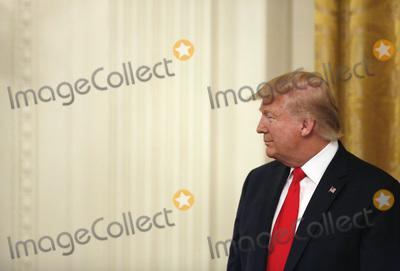 Benjamin Netanyahu Photo - United States President Donald J Trump looks on as he meets with Israels Prime Minister Benjamin Netanyahu in the East Room of the White House in Washington DCon Tuesday January 28 2020 Credit Joshua Lott  CNPAdMedia