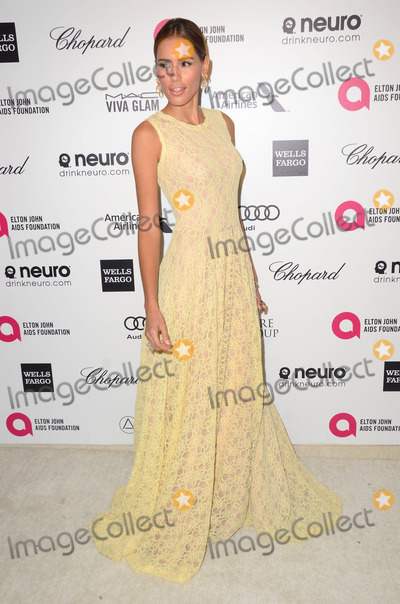 Rebecca Costa Photo - 22 February 2015 - West Hollywood California - Rebecca Costa 23rd Annual Elton John Academy Awards Viewing Party sponsored by Chopard Neuro Drinks and Wells Fargo held at West Hollywood Park Photo Credit Birdie ThompsonAdMedia