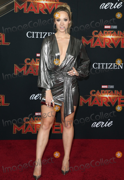 Alisha Marie Photo - 04 March 2019 - Hollywood California - Alisha Marie Captain Marvel Los Angeles Premiere held at El Capitan Theater Photo Credit Faye SadouAdMedia