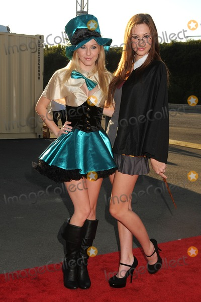 Savvy and Mandy Photo - 29 October 2011 - Santa Monica California - Savvy and Mandy 18th Annual Dream Halloween To Benefit The Children Affected By AIDS Foundation held at Barker Hangar Photo Credit Byron PurvisAdMedia