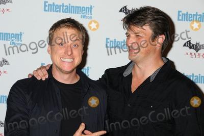 Alan Tudyk Photo - 23 July 2011 - San Diego California - Alan Tudyk and Nathan Fillion 5th Annual Entertainment Weekly Comic-Con Party held at The Hard Rock Cafe Photo Credit Byron PurvisAdMedia