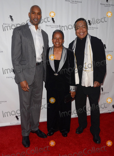 Henri Simmons Photo - 23 April 2014 - Hollywood California - Henry Simmons Dr Catana Starks Pierre Bagley Arrivals for the Los Angeles premiere of From the Rough held at the Arclight Cinemas in Hollywood Ca Photo Credit Birdie ThompsonAdMedia