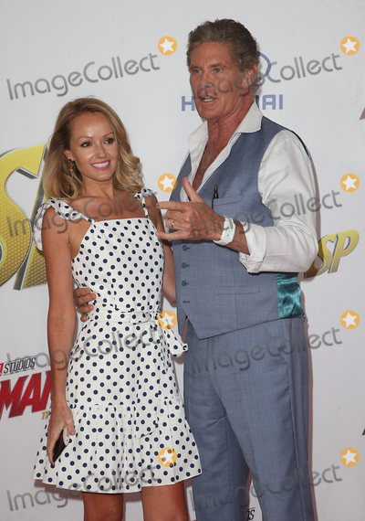 Hayley Roberts Photo - 25 June 2018 - Hollywood California - Hayley Roberts and David Hasselhoff Ant-Man and The Wasp Los Angeles Premiere held at the El Capitan Theatre Photo Credit F SadouAdMedia