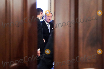 President Trump Photo - Michael van der Veen attorney for former President Donald Trump is seen after the Senate voted 57-43 to acquit former President Trump during his impeachment trial on Saturday February 13 2021Credit Greg Nash - Pool via CNPAdMedia